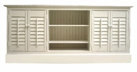 plantation buffet antique white
