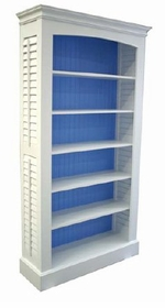 plantation shutter bookcase