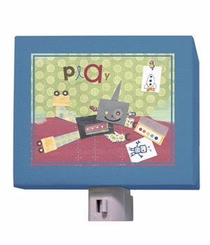 play robot nightlight
