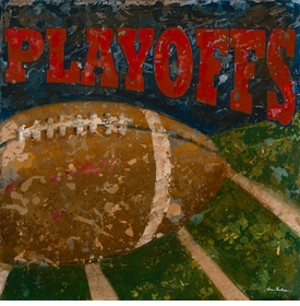 playoffs -  football wall art - unavailable