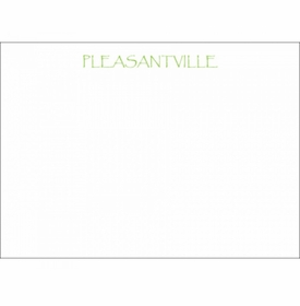 pleasantville social stationery