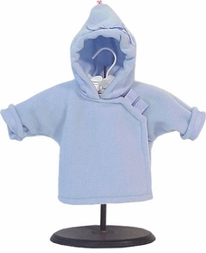 polartec fleece jacket - light blue by widgeon