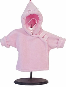 polartec fleece jacket - light pink by widgeon