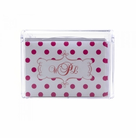 polka dots children's note box