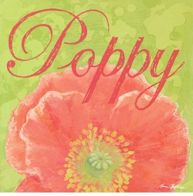 poppy wall art - unavailable