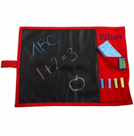 portable chalkboard placemat