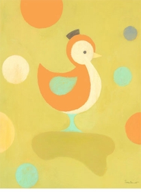 poser duckling wall art