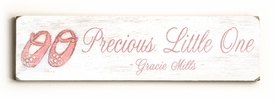 precious little lines vintage sign