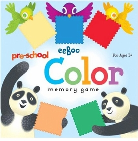 preschool color matching game by eeboo