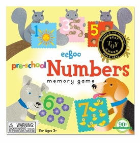 preschool number matching game by eeboo