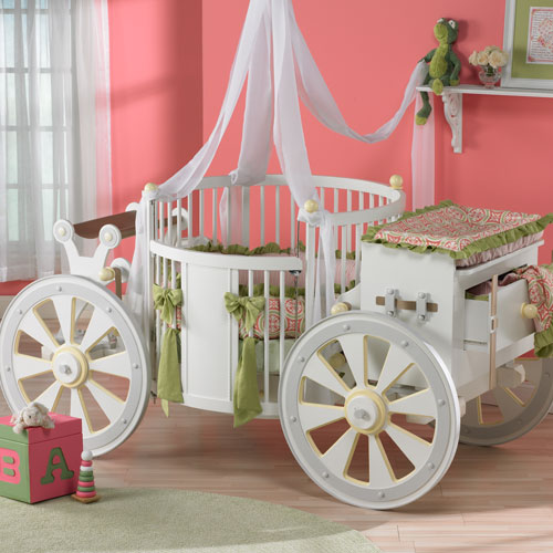 Princess Carriage Crib Featured At Babybox Com