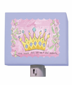princess crown nightlight