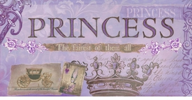 princess - fairest of them all (lavender) wall art - unavailable