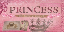 princess - fairest of them all (pink) wall art - unavailable