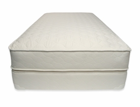 quilted organic deluxe mattress set