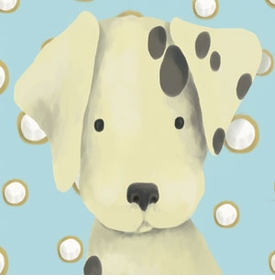radley the dalmation wall art canvas reproduction