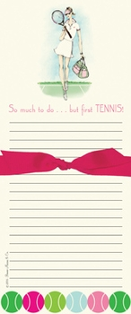 raquel's racquet note pad  - SOLD OUT