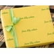 recycled personalized gift wrap - louisville