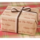 recycled personalized gift wrap - natural kraft