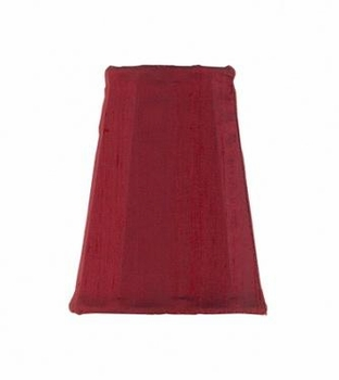 red sconce shade