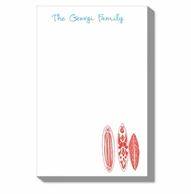 Red Surfboards Notepads