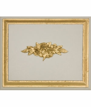 reef with gold gilding wood finish