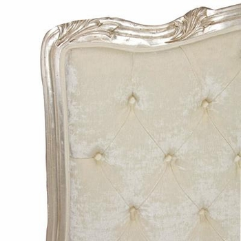 regal king bed - tufted upholstered (custom fabrics and finishes available)