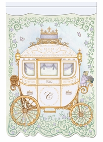 regal princess coach lovely lavender personalized wall hanging