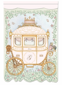 regal princess coach posey pink personalized wall hanging