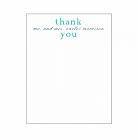 renee & carlosthank you notes