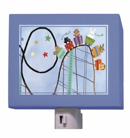 rollercoaster ride nightlight