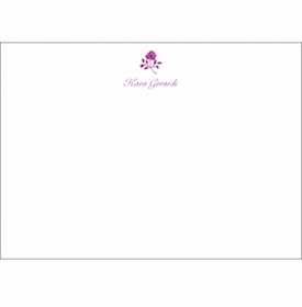rose social stationery