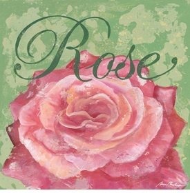 rose -  wall art - unavailable