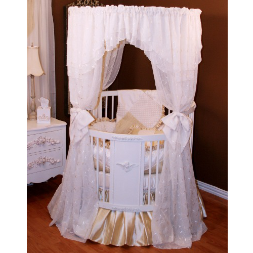 royal palace crib bedding by little bunny blue. Black Bedroom Furniture Sets. Home Design Ideas