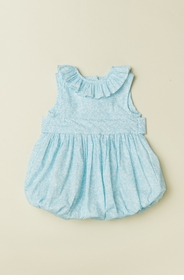 ruffle collar baby bubble
