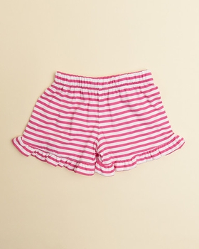ruffle trimmed jersey shorties