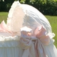 ruffles and bows bassinet