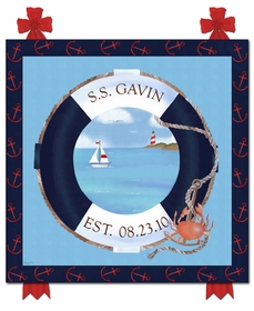 s.s. maritime nautical navy personalized name plaques