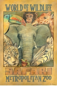 safari wall art - unavailable