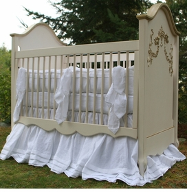 san sebastian crib linens (custom colors available)