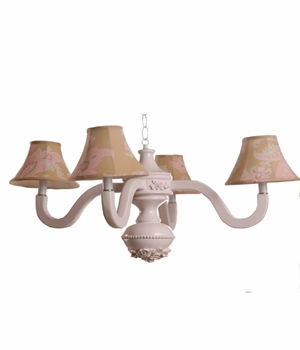 sand odile bella spindle chandelier