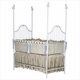 scalloped iron crib 6950