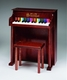 schoenhut traditional spinet piano  (25 key)