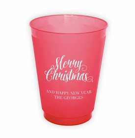 Scripty Christmas Cup