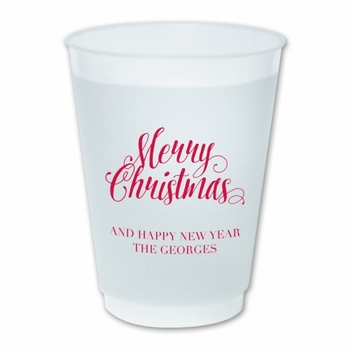 Scripty Christmas Cups