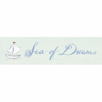 sea of dreams vintage sign