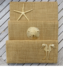 seaside clutch with casting (golden grass)
