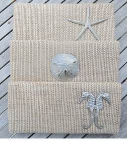 seaside clutch with casting (natural grass)