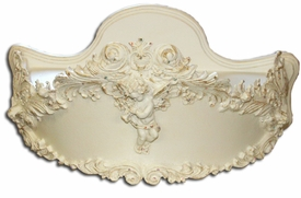 serena bed crown by villa bella