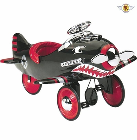 shark attack pedal airplane